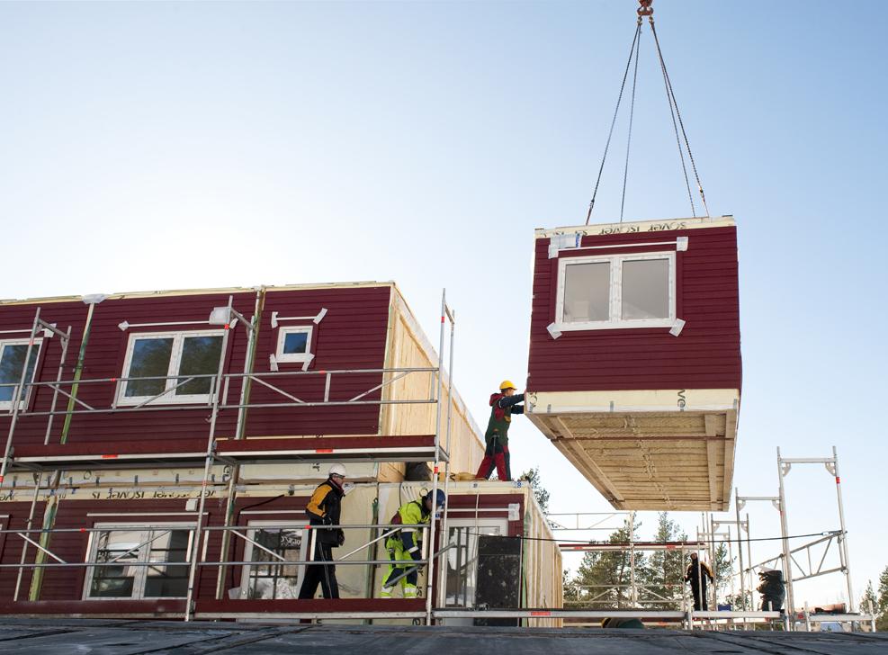 Kraftig okning av byggkostnader