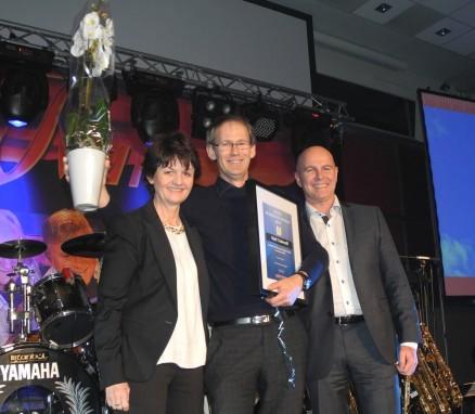 Kjell Tislevoll i Engevik & Tislevoll er kåret til årets selger av boenheter i kategorien EAT.