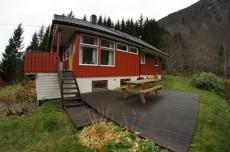 Huset ble bygd i 1981 og var modent for oppgradering. (Foto: Magne Bergseth)