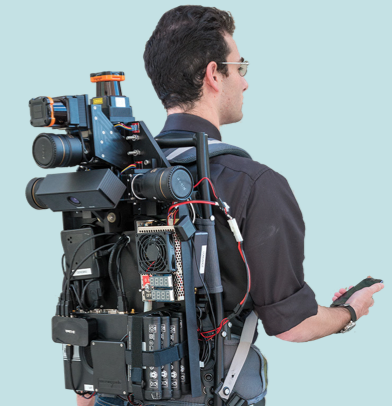 Infrarøde sensorer og kameraer tar all plass, Kvikklunsjen får du ta på lomma. (Foto: Lawrence Berkeley National Laboratory).