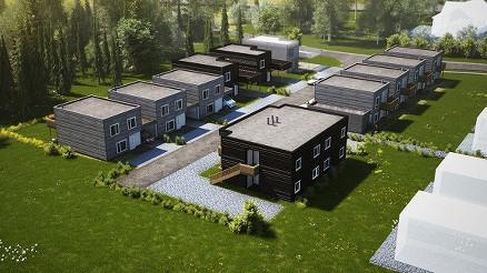 Bygge takterrasse på flatt tak