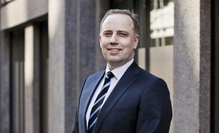 Administrende direkt�r i Eiendom Norge, Christian Vammervold Dreyer m� tenke nytt.( Foto: Solfrid Sande/ Eiendom Norge)