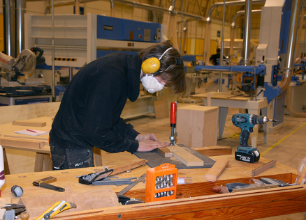 Fra konkurransen i Yrkes-NM 2012 på Lillestrøm (Foto: World Skills Norge)