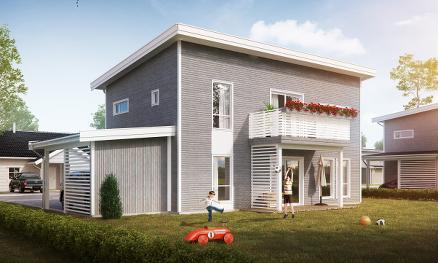 Mesterhus med ti nye boliger | Byggmesteren