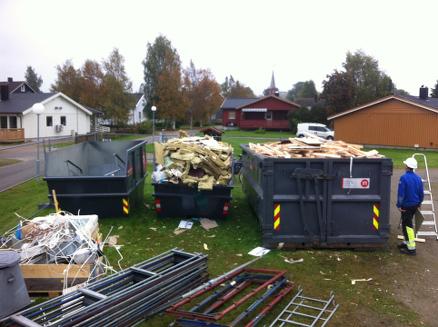 Sortering av avfall. (Foto: Ståle Tranås/Husbanken)