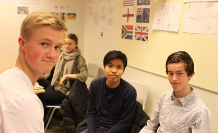 Mathias har bestemt seg for elektro, Dat er fortsatt usikker og Jens skal ta studiespesialisering.