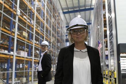 Næringsminister Monica Mæland. (Foto: Ragnhild H. Simenstad, NFD.)