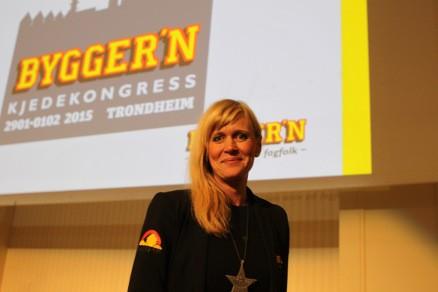 Kjededirektør Christine Holm har store planer for Bygger´n kjeden i 2015.