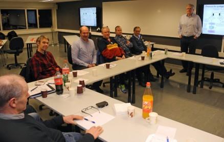 Daglig leder Frank Ivar Anderrsen fikk spørsmål og positive kommentarer til  gjennomgangen av forbundets arbeid for seriøsitet og ny sentral godkjenning.
