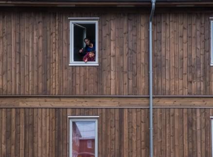 Studentene må betale mer for å bo i de nye hybelboligene, men er fornøyd med kvaliteten. (Foto: HiHM/Statsbygg)