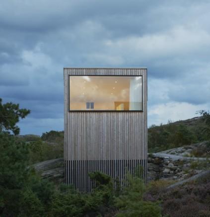 Fritidshus i Kyrkesund - Tjörn. (Foto: Arkitekt Mattias Gunneflo)