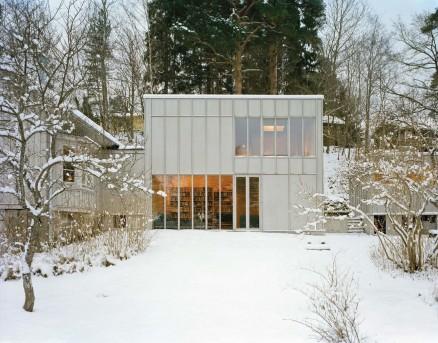 Villa Eder Hederus i i Nacka. (Foto: Arkitekt GA & KOD)