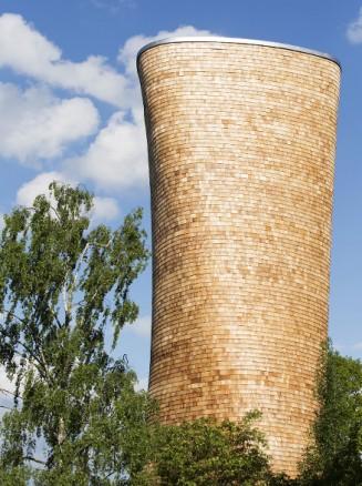Tretårn i Nationalstadsparken for Norra Länken i Stockholm. (Foto: Rundquist arkitekter AB)
