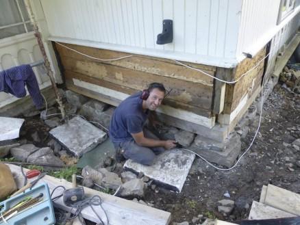 Antikvarisk restaurerer Marius Kalseth. (Foto: Anita Teige)