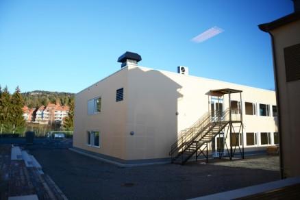 Ny paviljongbygning på Voksen skole i Oslo