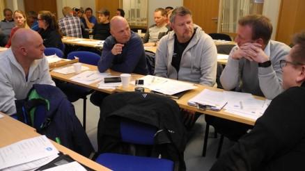 I pausen ble erfaringer med tilsyn og godkjenningsordning diskutert blant de frammøtte.
