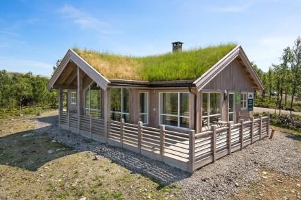 På Kvamsfjellet tar det i snitt bare 42 dager å selge hytter. (Illustrasjonsfoto: Tine Hytter)