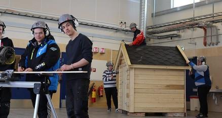 Byggfagene er blitt mer populært blant samisk ungdom. (Foto: Statsbygg)