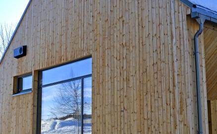 Bildet viser ZEB Test Cell Laboratory, hvor deler av forskningen vil foregå. (Foto: Ole Tolstad, NTNU)