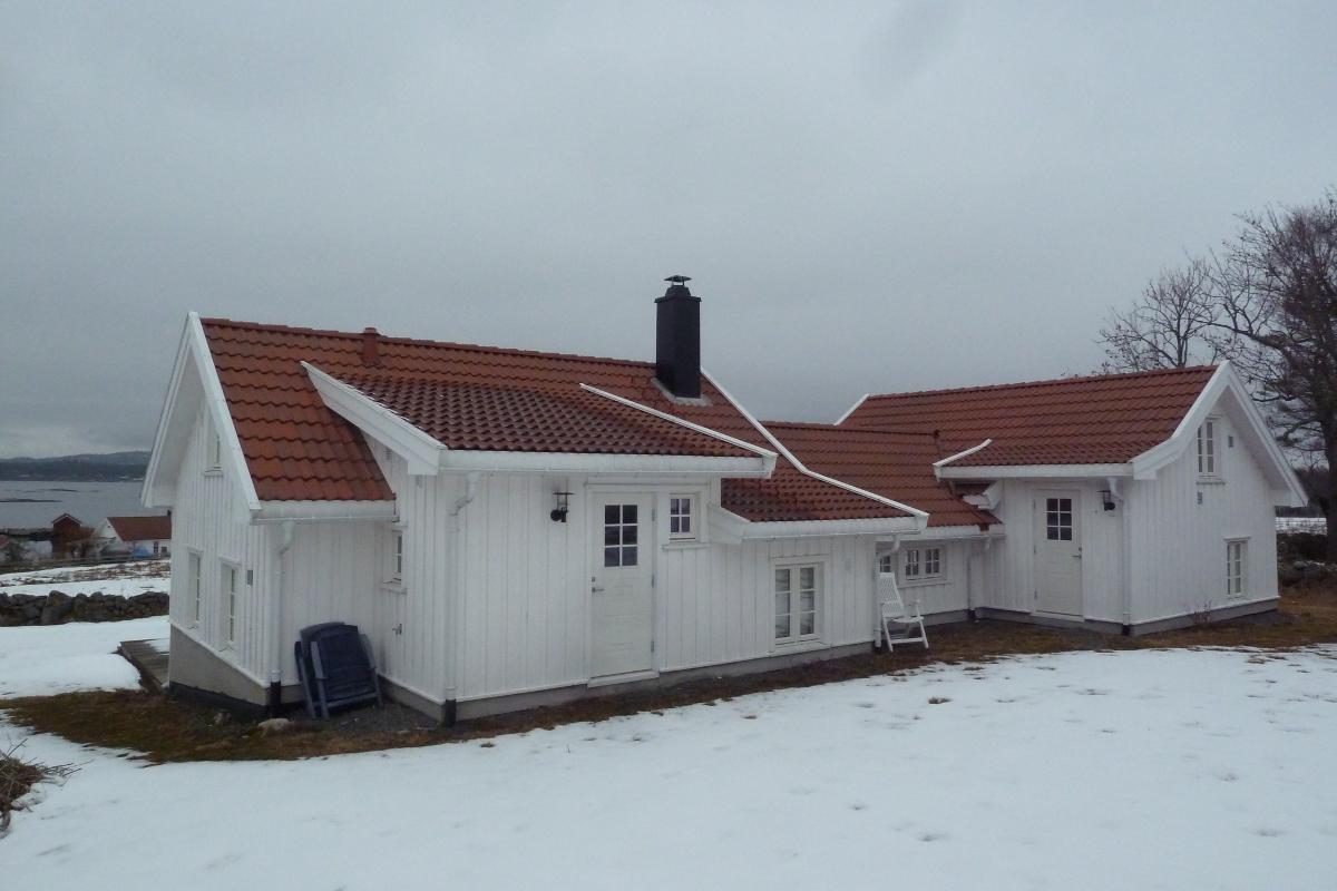 Nye hytter er ikke tillatt, men det kan bygges hytter som erstatning for tidligere hytter, som dette er et eksempel på.
