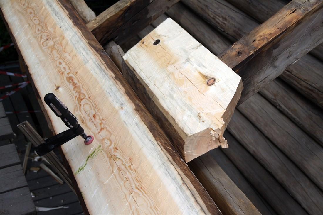 Bordene kant mot kant. (Foto: Christel Wigen Grøndahl, Bygg og Bevar)
