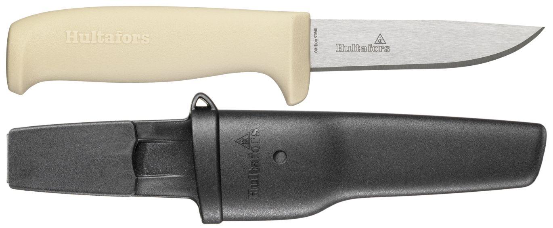 Flexikniv FXK med fleksibelt knivblad. For eksempel ved fjerning av maling eller silikon fra overflater. Eller om du trenger kniv med tynt blad. (Foto: Hultafors)