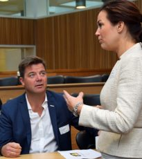 Knut Strand Jacobsen, Byggmakker, i samtale med Camilla Gramstad, Virke.