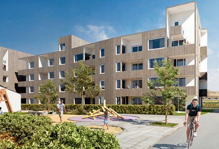 BATE i Rogaland er eit av dei bustadbyggelaga som nyttar tilskot til tilstandsvurdering. (Illustrasjon: BATE)