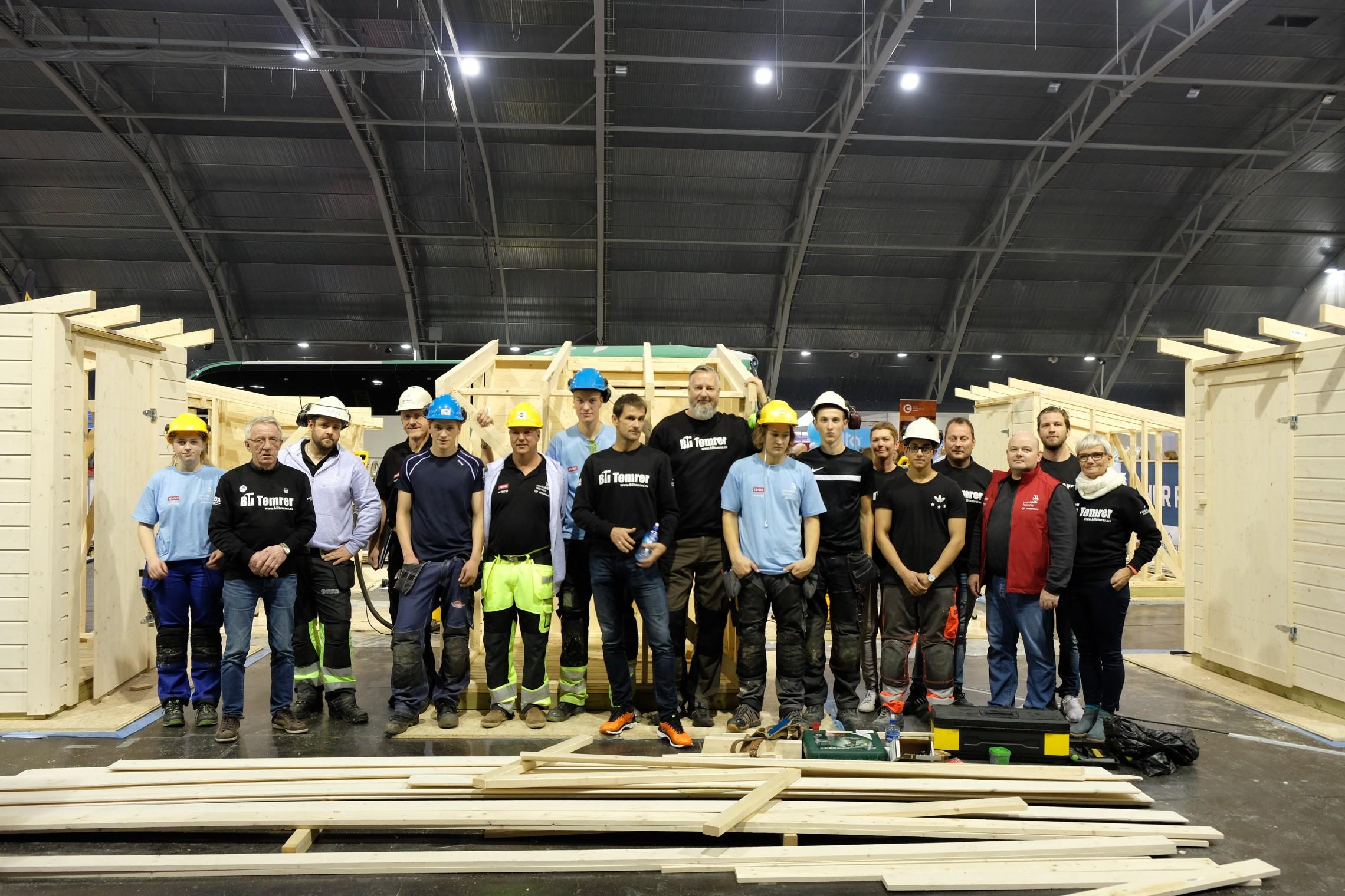 Byggmesterforbundet og Entreprenørforeningen Bygg og Anlegg EBA, samarbeidet om å arrangere konkurransen for tømrerlærlingene og dette samarbeidet var så vellykket at det vil fortsette fremover.