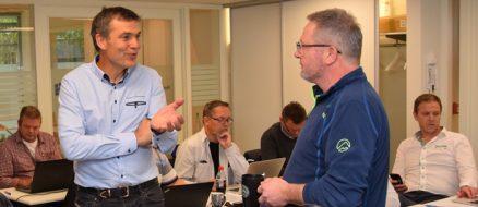 Fagkonsulentene Nils Jørgen Brodin og Jens-Morten Søreide ledet kurset første dag.