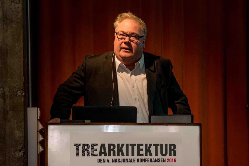 Konferansen ble åpnet av statssekretær fra Kulturdepartementet Bård Folke Fredriksen.