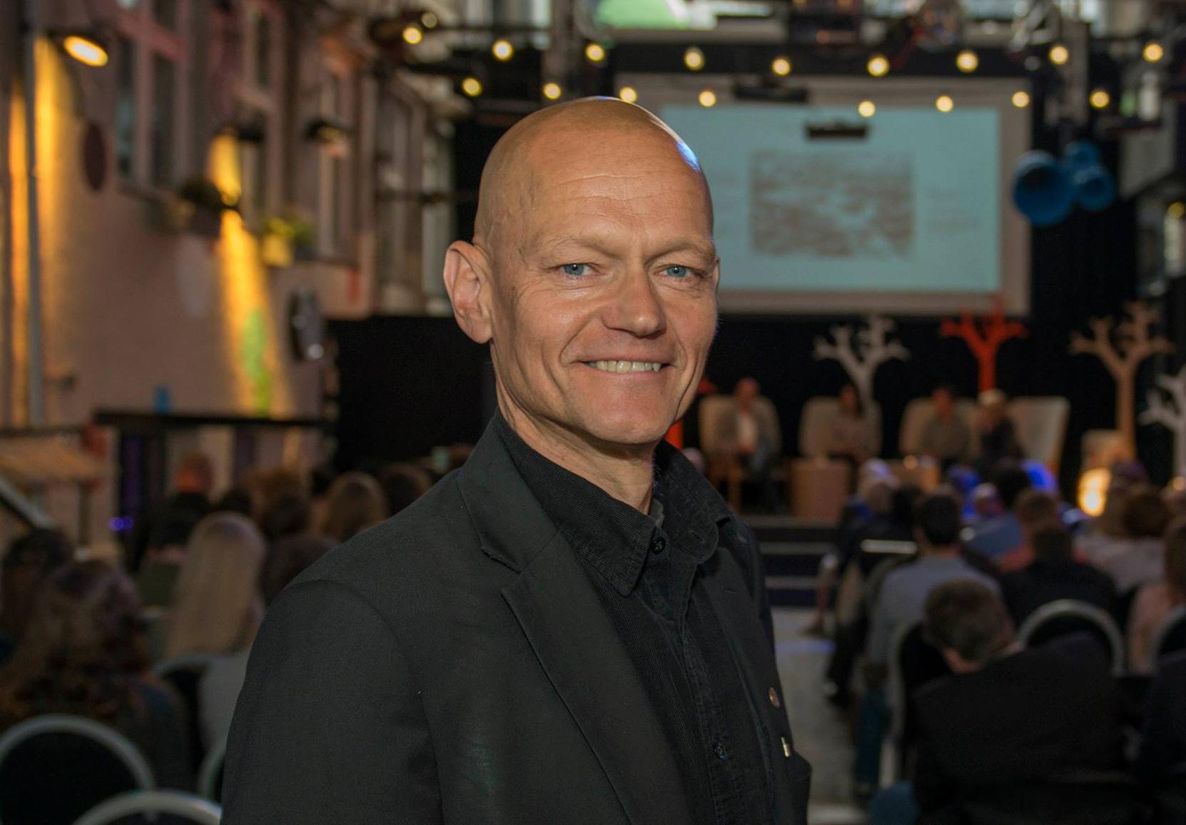 - Gledelig å se at byggenæringen tas med, sier Aasmund Bunkholt (Foto: Knut Werner Lindeberg Alsén)