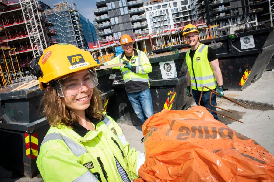 4262d4689 Sorterer Alt avfall på byggeplass - Byggmesteren